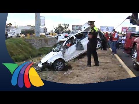 Cae auto al río Lerma, 3 personas fallecieron | Noticias del Estado de México