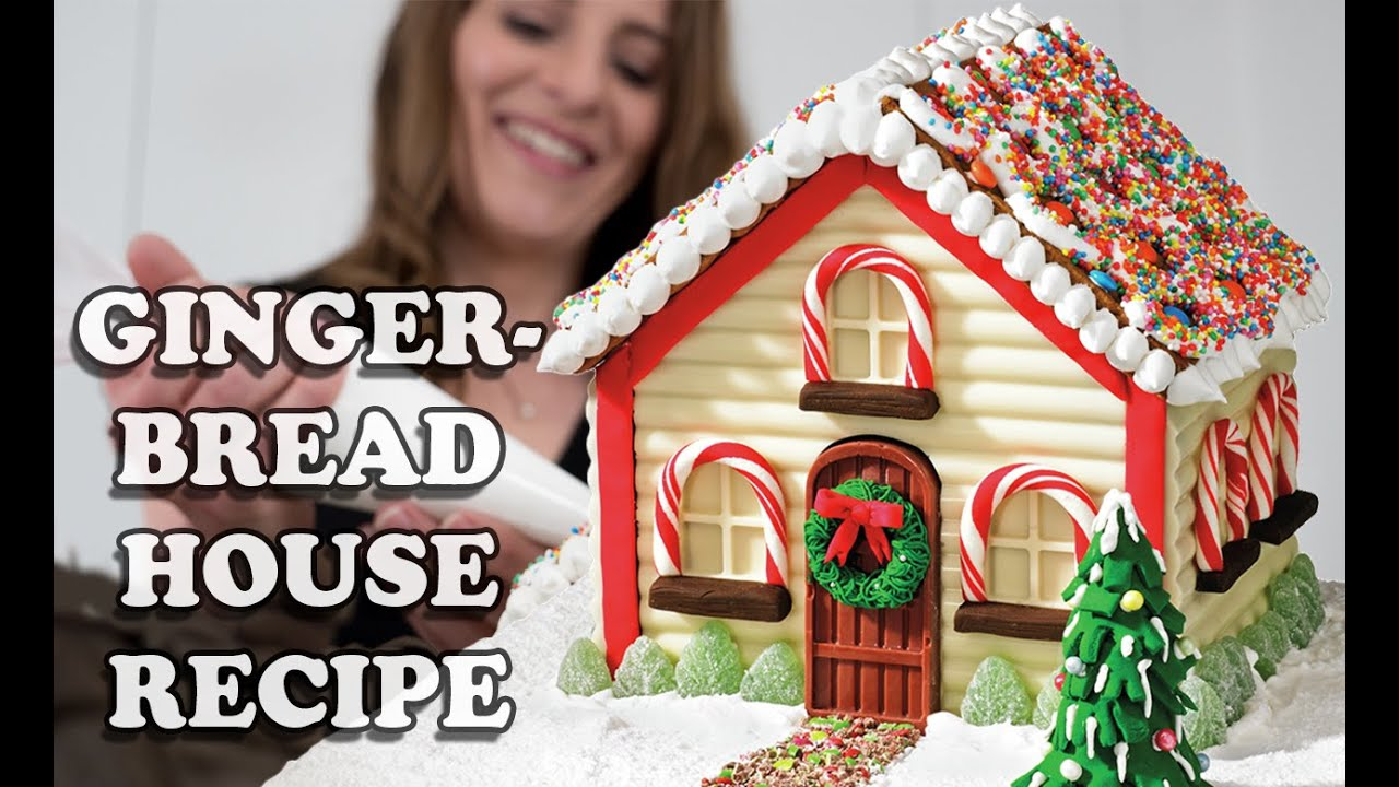 GINGERBREAD HOUSE RECIPE How To Cook That for Christmas ...