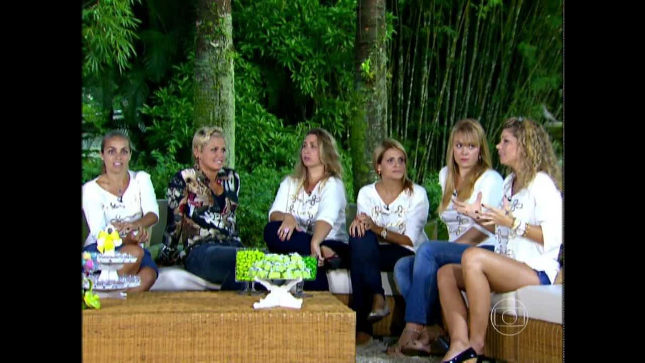 Xuxa Y Las Paquitas Xuxa e as ex-Paquitas mamaes