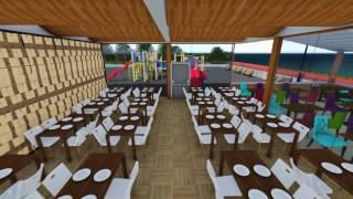 Saklı Cafe ve Bistro 3D Animasyon