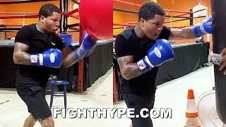 (WOW!) GERVONTA DAVIS UNLEASHES EXPLOSIVE POWER; THROWING SERIOUS HEAT PERFECTING KO FOR GAMBOA