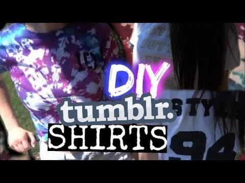 Surviving A One Direction Concert: DIY Shirts!!! Tumblr Inspired