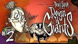 Don't Starve (Reign of Giants DLC - Wickerbottom) - Part 2 - Rainy Day Blues