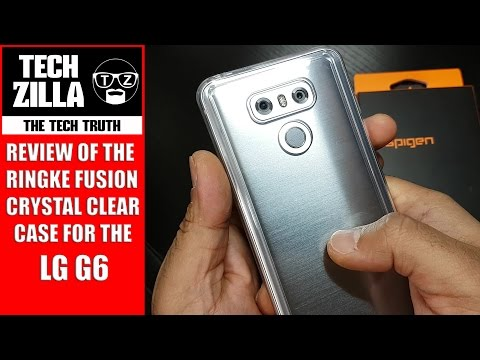 LG G6 Ringke Fusion Clear Case