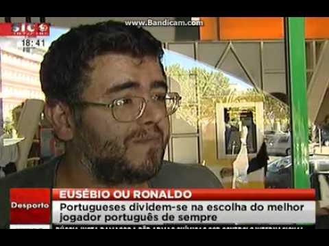 Ronaldo ou Eusébio. Quem é o melhor? os portugueses respondem