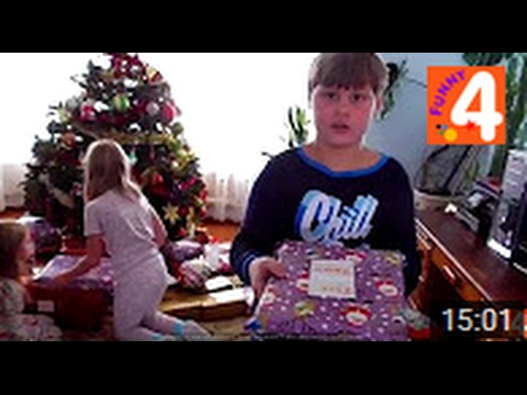 США Открываем Новогодние подарки! Рождественское утро в Америке/Подарки на Новый Год/