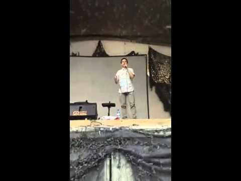 David Archuleta sings Bring Him Home for U.S. troops in Afghanistan