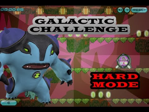 Ben10 Galactic Challenge - Ultimate Cannonbolt ( Hard Mode )