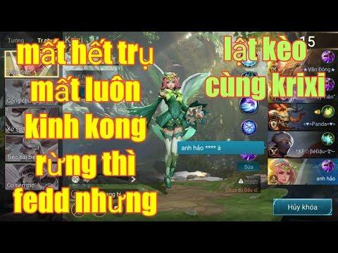 Liên Quân Mobile _ Rừng Thì Fedd Trụ Cũng Không Còn Kinh Kong Cũng Mất Nốt   Nhưng Vẫn Lật Được Kèo