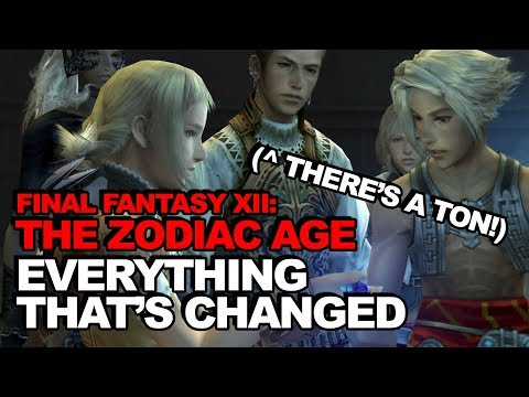 Everything That's Changed With Final Fantasy XII: The Zodiac Age (Hint: There's A Ton)
