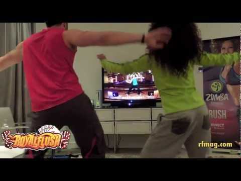 Zumba Fitness Rush  Xbox 360  Preview