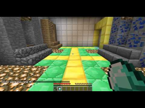 Server minecraft 1.6.2 - parkour,pvp,hunger game,paintball,mob arena e muito mai