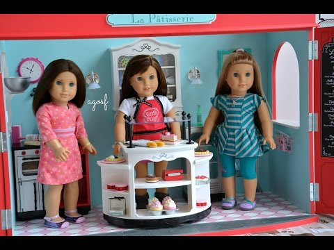 American Girl Doll Grace Thomas Bakery ~goty 2015~ Opening, Review, Set Up! Hd Watch In Hd!