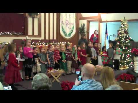 Trimont Christian Academy Preschool Christmas Program - December 11, 2012