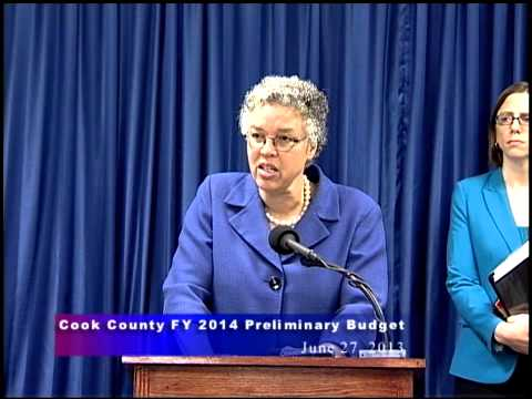 President Preckwinkle Releases FY 2014 Preliminary Budget