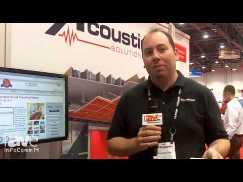 InfoComm 2014: Acoustical Solutions Showcases Custom Fabric-Wrapped Wall Panels