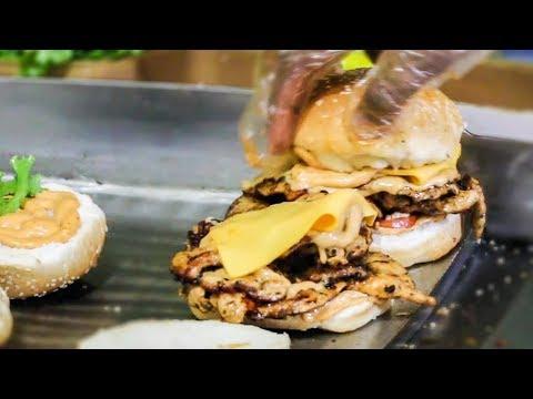 Bengali Food Review ⚫ Almost Bangladeshi Best Burger 🍔 Dhaka Food Tour