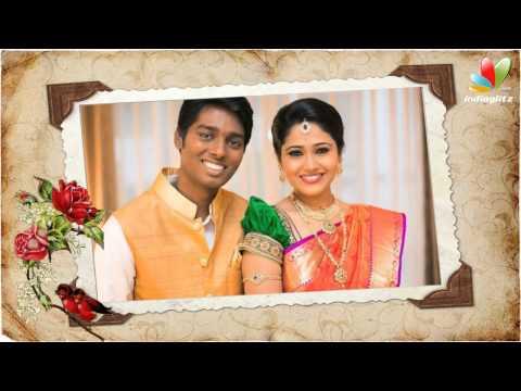 Raja Rani Director Atlee Kumar - Priya Wedding   Marriage Video   Reception   Director Shankar. Bala
