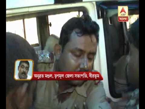 Birbhum tmc leader Anubrata Mondal accuses bjp of attacking police at parui.