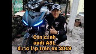 Siêu phẩm EXCITER đen nhám 2019 - Lên bộ audi a8L full ngầu !