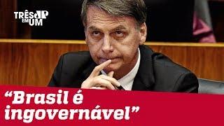 Pelo WhatsApp, Bolsonaro divulga texto sobre dificuldades de governar o Brasil