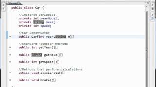 Java Tutorial - 8 - Constructors