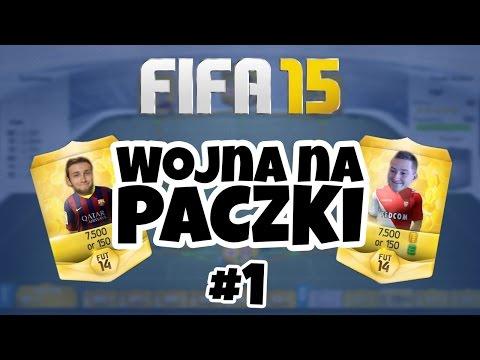 FIFA 15 | Wojna na paczki LIVE #1