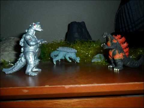 Godzilla Rezurrection | Stop Motion Animation