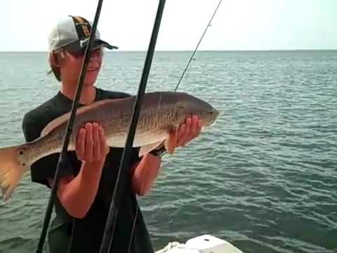 Bradenton Fishing Charters with Brook Wallace | Marcus and Family