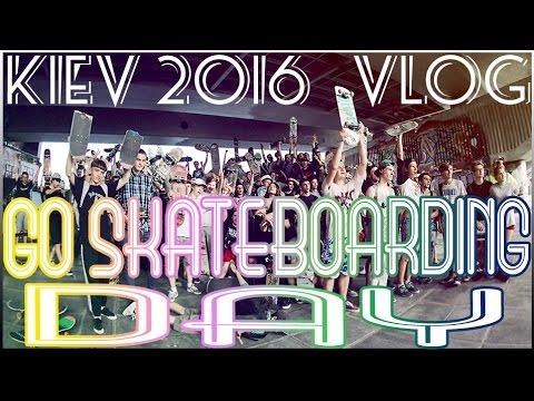 VLOG : GO SKATEBOARDING DAY | ДЕНЬ СКЕЙТБОРДИНГА