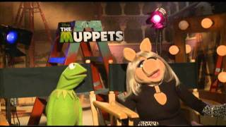 THE MUPPETS Interviews with Jason Segel, Kermit the Frog, Miss Piggy and Walter