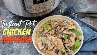 Instant Pot Chicken Marsala Recipe | 30 Minute Meals!