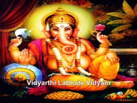 Sankata Nashana Ganapathi Stotram With English Lyrics (Happy...