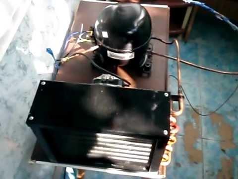 Кондиционер своими руками из холодильника видео