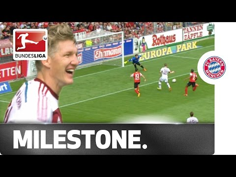 Great Build-Up, Clinical Finish - Schweinsteiger Scores in 500th FCB Game