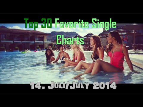 Top 30 Favourite Single Charts - 5 Juli - 14 Juli 2014