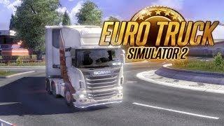 Прохождение игры euro truck simulator 2 за рулем по европе
