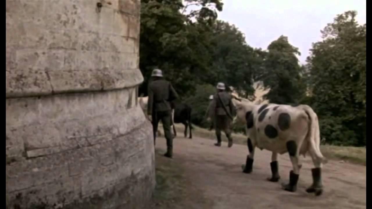 Top Secret  The cow  Val Kilmer Top Secret Cow