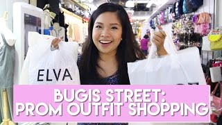 Bugis Street - Buying An Entire Prom Outfit Under $55 Including Shoes + Clutch | PrettySmart