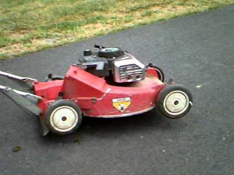 Toro Self Propelled Push Mower Parts Or Repair Runs Youtube