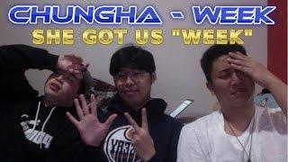 CHUNGHA(청하) -  월화수목금토일(Week) MV Reaction [T3UF]