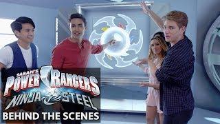 Power Rangers Ninja Steel  | Meet the Cast: Explore the Ranger Base