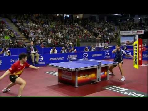 2013 German Open (ms-sf) FAN Zhendong - SAMSONOV Vladimir [HD] [Full Match / Chinese]