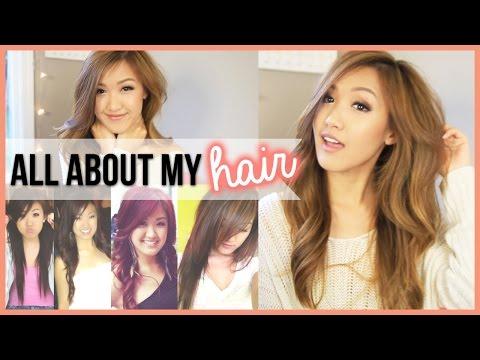 ALL ABOUT MY HAIR (Color, Cut, Care, Red Hair Again?) | ilikeweylie