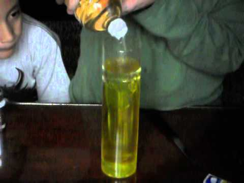 Experimento como hacer lampara de lava youtube - Como hacer lamparas ...