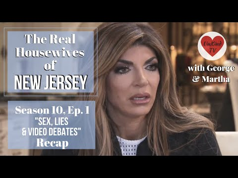 "Real Housewives of New Jersey RECAP: S10, Ep.1: ""Sex, Lies and Video Debates"""