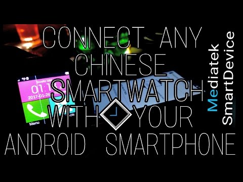 How to Connect any Chinese Smartwatch||with your Android™ Smartphone||to get Notifications||Easilly.