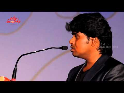 Music Director Radhan Speaks At Vaaliba Raja Audio Launch video
