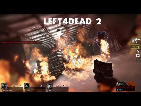 Lets Fail Left4Dead #03- Left4Fail/saferoom on fire |