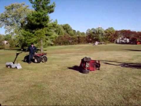 Lawn mower starts, runs a few seconds and then stops.? : Lawn